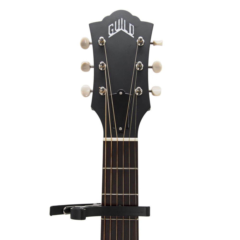 Musick Road Standard Guitar Capo in Matte Black