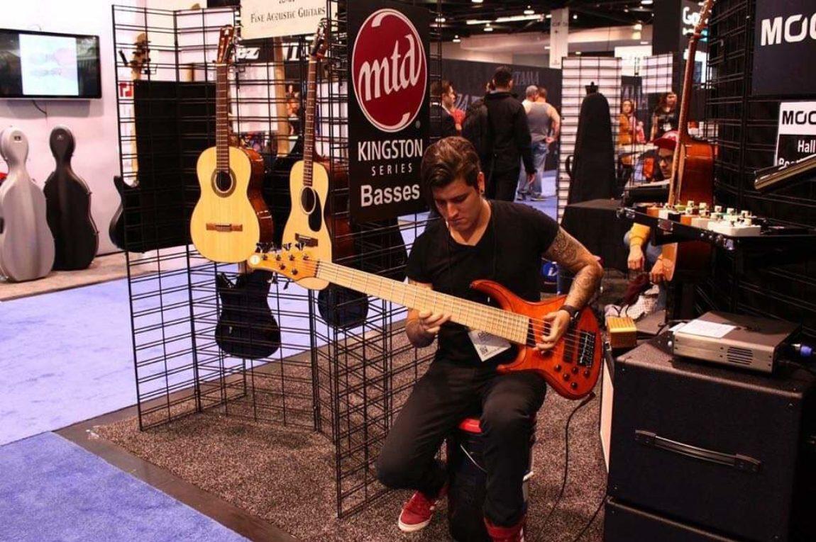 David Sanchez – Musick Road Endorsee at NAMM