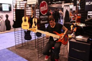 David Sanchez - Musick Road Endorsee at NAMM