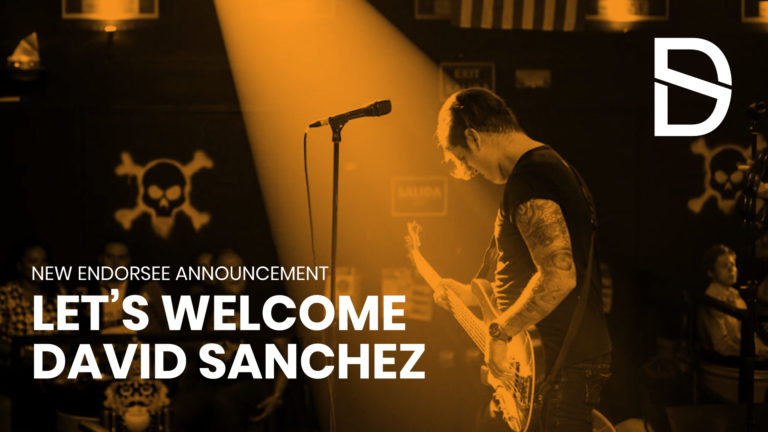 Musick Road Welcomes New Endorsee: David Sanchez