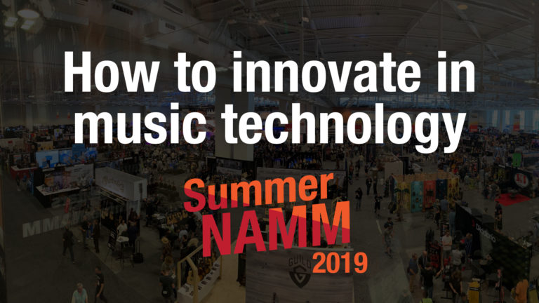 How to innovate in music technology