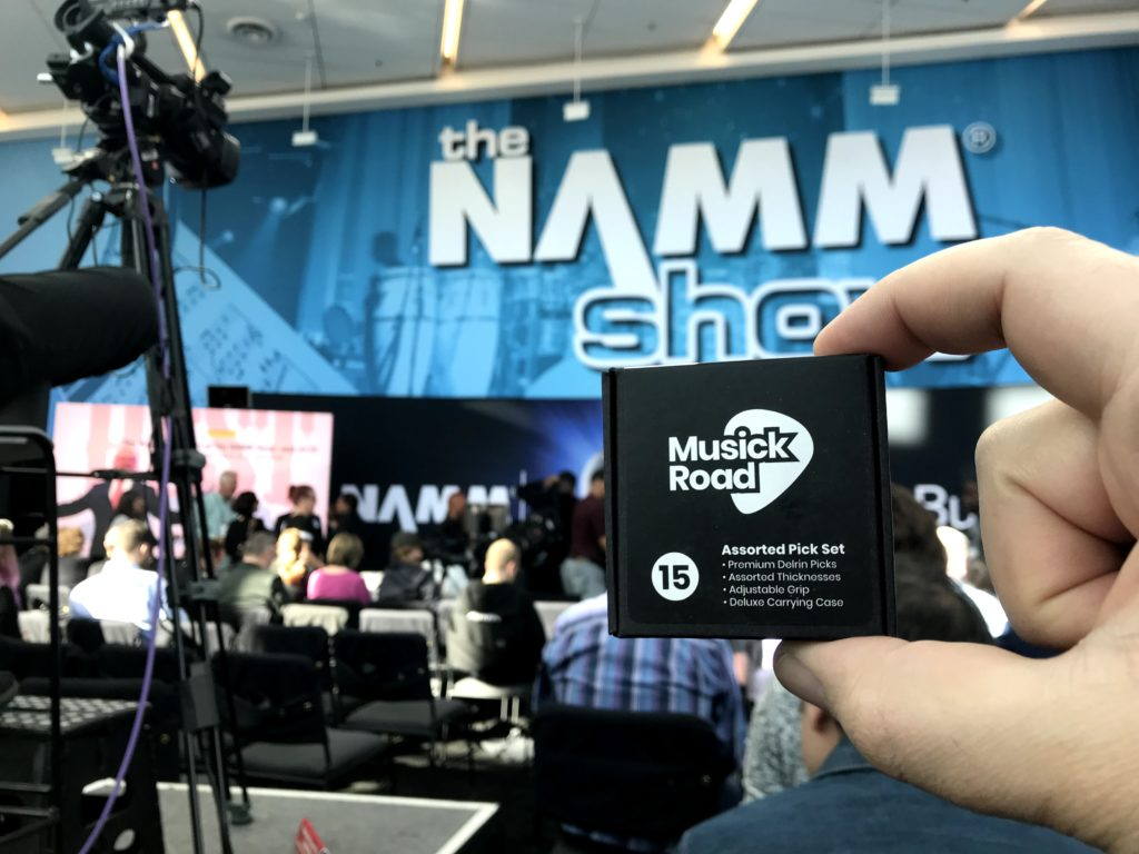 Musick Road at the NAMM Show